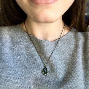 Hamsa beaded necklace